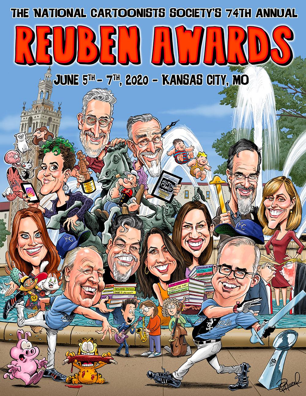 Kansas City 2020 | National Cartoonists Society