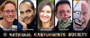 2020 NCS Cartoonist of The Year Nominees Announced | National Cartoonists Society